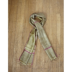 Silk Viola Gold Peace Scarf India  Overstockcom Silk Scarves Peace