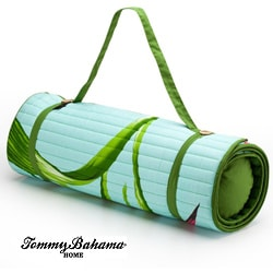 Tommy Bahama Green Orchid Beach Mat 12717457 Overstock