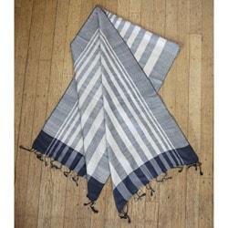 Silk Nilufer Black Peace Scarf India  Overstockcom Silk Scarves Peace