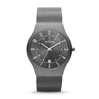 Skagen Men's Grenen Grey Titanium Watch