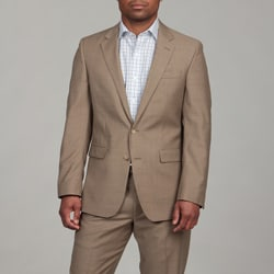 Kenneth Cole Men S Tan Wool 2 Button Suit 14086378