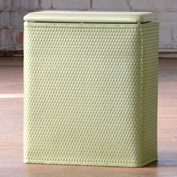 Carter Soft Sage Upright Laundry Hamper 14099099