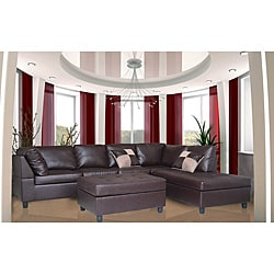 Donovan Sectional Sofa With 3 Reclining Seats 17897351