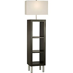 Nova Twin Etagere Shelving Lamp 14124659 Overstock Com Shopping Great Deals On Nova