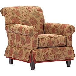 Broyhill Joy Floral Skirted Accent Chair 14254985