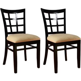 Black Mahogany Windsor Back 2pk Chair 17132608