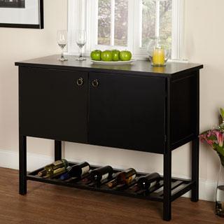 Furniture Of America Mason Black Finish Buffet Dining