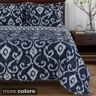 Windsong 3 Piece Cotton Quilt Set Prices Deals