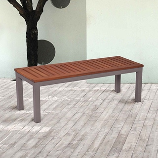 Groovy Sale Upton Home Encore Outdoor Backless Bench Gray Lamtechconsult Wood Chair Design Ideas Lamtechconsultcom