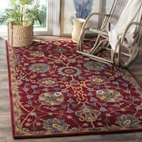 Safavieh Hand-Woven Heritage Red Wool Rug - 8' x 10'