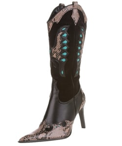 Rebels Ranchero Women S Stiletto Heel Cowboy Boot 423741