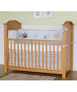 Robin Honey Oak Finish Crib 80001015 Overstock Com