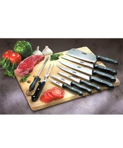 Gourmet Traditions 10 Piece Kitchen Knife Set 942760