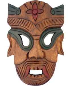 Warrior Tribal Mask Wall Hanging 960636 Overstock Com