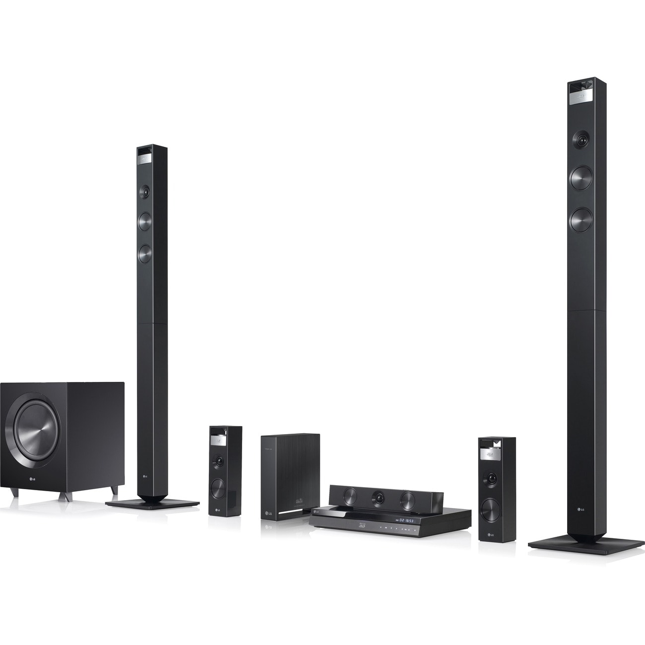 LG BH9420PW 7.1 3D Home Theater System