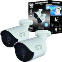 Night Owl CM-HDA10W-BU 2 Megapixel Surveillance Camera - 2 Pack - Col