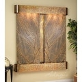 Adagio Cottonwood Falls Fountain w/ Green Featherstone in Stainless Steel Finish - Thumbnail 6