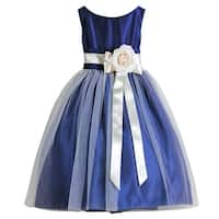 Sweet Kids Baby Girl 24M Royal Blue Tulle Special Occasion Dress
