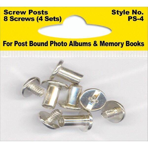 Pioneer Screw Post Extenders Male/Female End Post 8/Pkg-