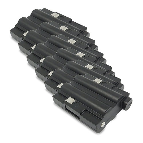 Replacement 700mAh Battery For Midland GXT550VP1 / GXT760VP4 2-Way Radios Models (6 Pack)