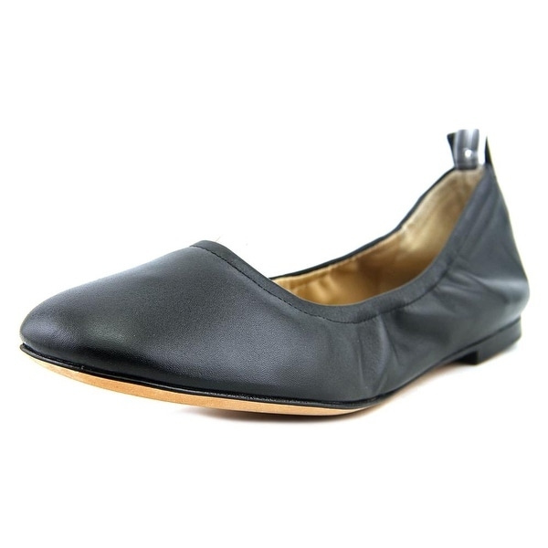 Marc Fisher Frey Round Toe Leather Ballet Flats