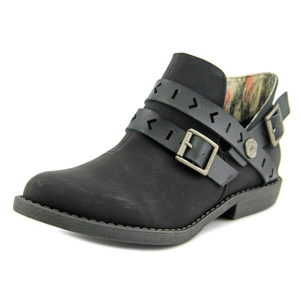 Blowfish Anotole Women Round Toe Synthetic Black Ankle Boot