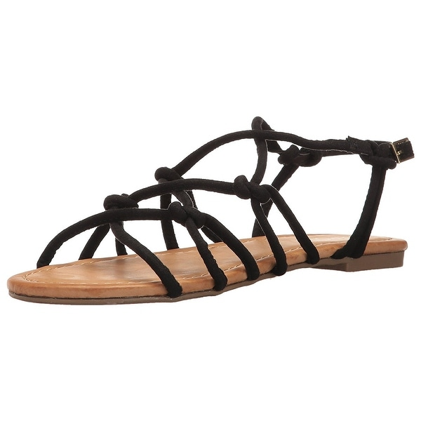 Report Womens Gail Open Toe Casual Ankle Strap Sandals
