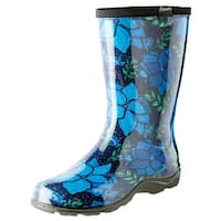 Women's Sloggers Rubber Boots - Garden Spring Surprise Print