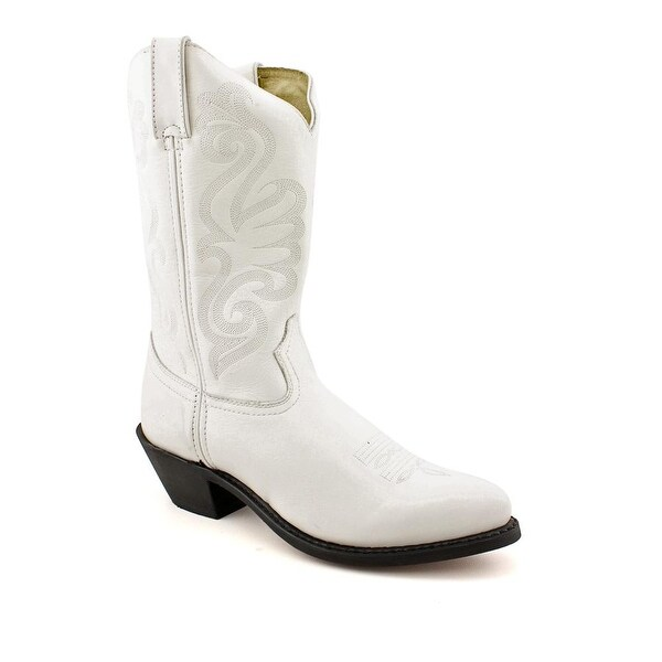 Durango RD411 Women Pointed Toe Leather White Western Boot