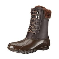 Steve Madden Womens Tstorm Snow Boots Ankle Round Toe