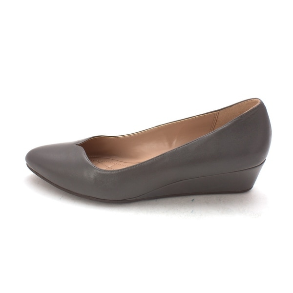Cole Haan Womens Elfridasam Closed Toe Wedge Pumps - 6