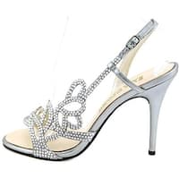 E! Live From The Red Carpet Womens Yanni Open Toe SlingBack Classic Pumps