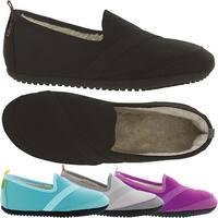 KoziKicks Women's Ergonomic Comfort Non-Slip Sole Plush-Lined Active Slippers