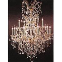 Swarovski Crystal Trimmed Maria Theresa Chandelier Lighting