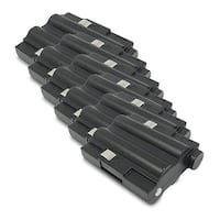 Replacement 700mAh Battery For Midland GXT400VP1 / GXT710 2-Way Radios Models (6 Pack)