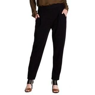 Vince. Women's 8X28 Velvet Solid Pants Wool Stretch