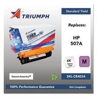 Triumph Remanufactured 507A Toner Cartridge - Magenta Toner Cartridge