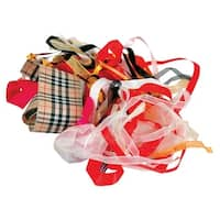 Stanislaus Fabric Ribbon Remnant Assortment, 25 Yards, Pack of 25