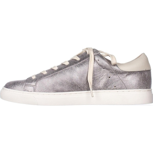 Lucky Brand Womens Lotuss3 Leather Low Top Lace Up Fashion Sneakers
