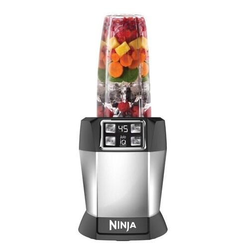 Nutri Ninja BL482 Auto iQ Technology High Speed Blender (Certified Refurbished) - gray