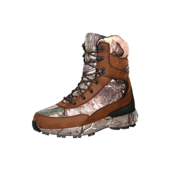 Rocky Outdoor Boots Mens Broadhead Waterproof Insulated Brown RKS0269