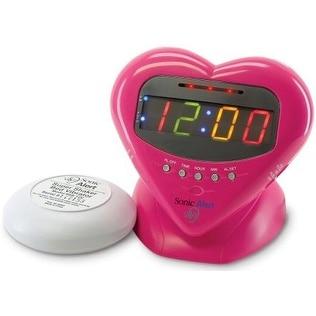 Sonic Alert SBH400ss Alarm Clock with Bed Shaker