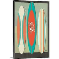 Shanni Welsh Premium Thick-Wrap Canvas entitled Surf Boards Two