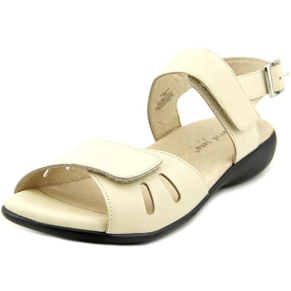 David Tate Lolita Women Open-Toe Leather Slingback Sandal