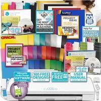 Silhouette Cameo 3 Machine Bundle Htv Kit Vinyl Kit Tools Designs Diy Shirt