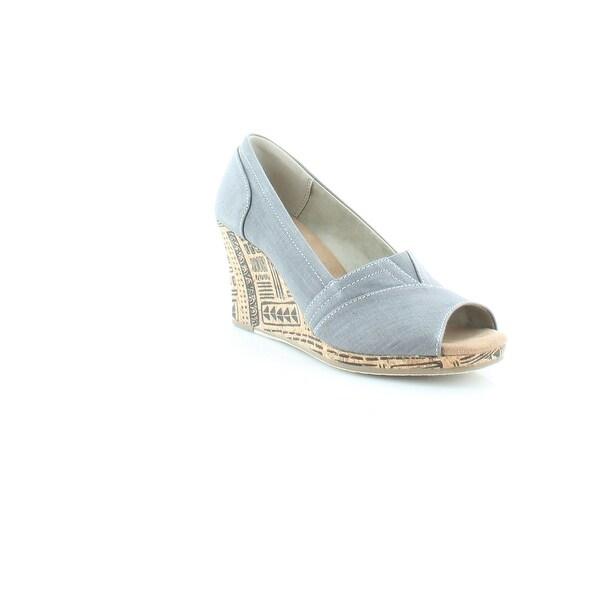 TOMS Classic Women's Heels Grey