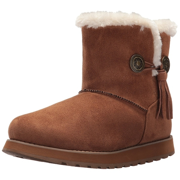 Skechers Women's Keepsakes-Short Boot Snow Shoe
