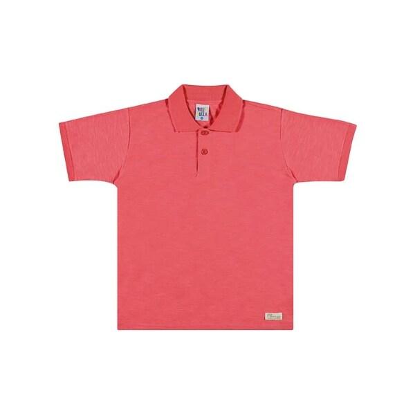 Boys Polo Style Shirt Kids Classic Tee Pulla Bulla Sizes 2-10 Years