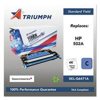 Triumph Remanufactured 502A Toner Cartridge - Cyan Toner Catridge