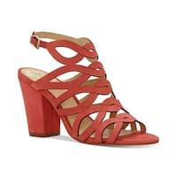 Vince Camuto Womens vc norla Leather Open Toe Casual Strappy Sandals
